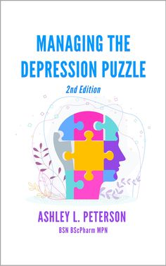 Depression is hard. There's a lot to figure out, and there can be a lot of trial and error until you find what works best for you and your individual illness. Managing the Depression Puzzle by Ashley L. Peterson combines professional expertise and personal experience to offer a wide variety of strategies that may fit in your own unique depression puzzle. #majordepression #depressiontreatment #depressionbooks #mentalhealthbooks #mentalillnessbooks #livingwithdepression Books About Mental Illness, Living With Depression, Depression Treatment, Book Review, Mental Health, Puzzle, Mindfulness, Writing, Unique
