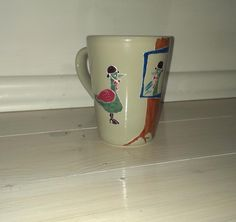 Painted mugs  https://www.facebook.com/pages/Inas-Beads-Jewelry/343522315768582?sk=page_insights