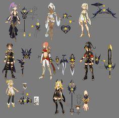 Dragon nest myth weapons by ZiyoLing on DeviantArt