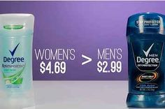 The Price Difference Between Men's And Women's Products Is Unreal