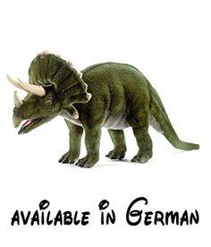 5101 - Hansa Toy - Triceratops 50 cm. <b>Artikelgruppe Plüsch und Stoff:</b> Fantasiefiguren. <b>Farbe Plüschtiere:</b> Grautöne. <b>Größe Stoff:</b> 50 cm. <b>Körperhaltung Plüschtiere:</b> Stehend. <b>Tierart:</b> Dinosaurier #Toy #TOYS_AND_GAMES