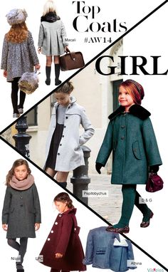 TOP COATS AW14 GIRLS