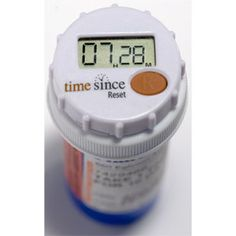 TimeSince Medicine Timer  on top of the medicine bottle. No more timers on your watch or phone with names of meds. Instead this is attached per med bottle. Perfect.