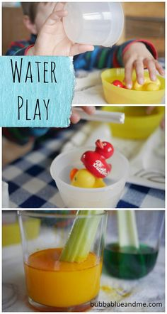 Easy water activities for children - Bubbablueandme The Ultimate Pinterest Party, Week 48