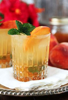 Bourbon and Peach Ja