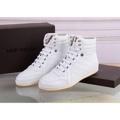 Louis Vuitton LV high-top Leather shoes for men, 1 : 1 quality trainers & sneakers Boot, inner hogskin #LNVSHO-483