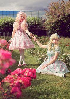 Never promised a rose garden, as found on deviantart. Credit: essie-morbide @deviantart.com, Revelio @deviantart.com