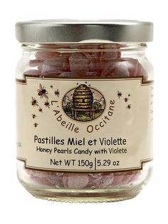 Honey Pearls with Violet