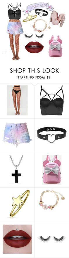 """""""Pastel baby"""" by little-liv on Polyvore featuring Missguided, Topshop, Cotton Candy, David Yurman and Bling Jewelry"""