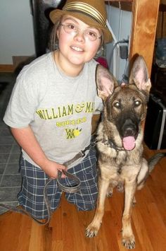 A young girl suffering from Post Traumatic Stress Disorder is hoping to raise the $5000 she needs to pay for her service dog, Indie.