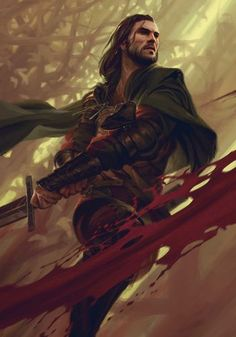 View an image titled 'Cahir Art' in our Gwent: The Witcher Card Game art gallery featuring official character designs, concept art, and promo pictures. Fantasy Male, High Fantasy, Fantasy Warrior, Fantasy Rpg, Medieval Fantasy, Fantasy Artwork, Fantasy Story, Fantasy Fighter, Fantasy Portraits