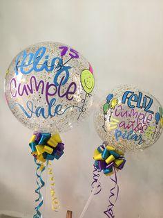 Surprise Box Gift, Birthday Balloons, Happy Holidays, Ideas Para, Christmas Bulbs, Baby Shower, Holiday Decor, Diy, Gifts