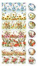 Nur Blumen Ostereier Folie für 35 Eier. Eierfarbe. Zauberfolie