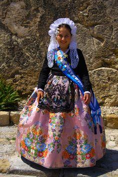 Traditional Dress Alicante, Valencia, Spain.