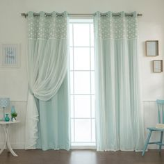 Floral-Lace-Overlay-Thermal-Insulated-Blackout-Grommet-Top-Curtain-Pair-0d5e2e50-0e7a-4161-a6cb-7a0645717ac7_600.jpg (600×600)