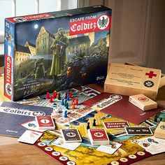 Buy Escape From Colditz Board Game from Museum Selection. Magic Memories, Great Memories, Childhood Toys, Childhood Memories, Traditional Toys, Classic Board Games, Retro Toys, Old Toys, 1980s