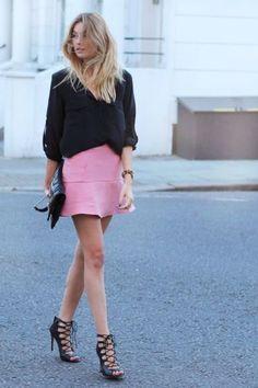 falls flippy flared mini skirts: scuba, skater, ruffled skirts