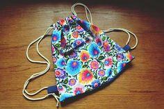 www.facebook.com/jeromins.factory  #backpack #folk #flowers #polish #handmade #DIY #ecobag #sewing #krawiectwo #kwiaty #plecak #polska #worek #eko