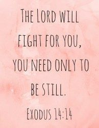 Anxiety fighting bible verse printables