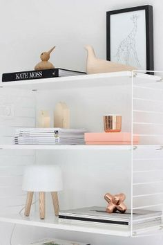 How to style your home like a pro - 10 on trend must haves to create the wow factor (Part 2) | The Little Design Corner | IKEA | String Shelves | styling | Milk lamp