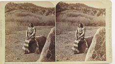 Ute Indian Chief in Manitou Springs - 1873