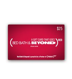 BB&B (PRODUCT)RED Gift Card