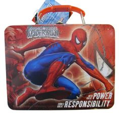 Initiative 4 Piece Mealtime Dinnerware-plate,bowl,fork,spoon Marvel Spiderman Buy One Give One Baby