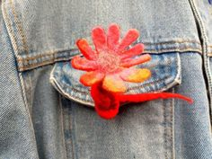 Hair Clips, Recycling, Wax, Vintage Fashion, Felt, Brooch, Hands, Traditional, Sewing