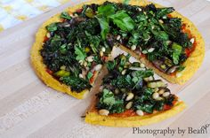 """Polenta """"Pizza"""" /by without adornment #vegan #recipe"""