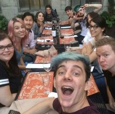 """markxsepticxpie: """" These are strangers These are friends But what are they to me?? These are my idols These are my heroes @markiplier @therealjacksepticeye @wiishu @pixlpit @crankgameplays etc. """""""