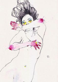 las femeninas ilustraciones de Conrad Roset - Cultura Inquieta