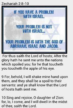 Do not touch the APPLE of God's eye!!!!