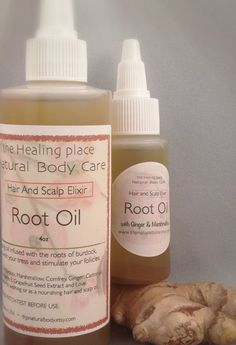 Root Oil Dry Scalp Hair Oil Treatment 4 oz