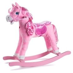 Rocking Horse, hobby horse and stick horse toys, spring horse, jumpy ball horse toy,horse toy with wheels and horse scooter are some of the fun horse toys that kids and adults can enjoy. See video of how toys work. Kids Rocking Horse, Plush Rocking Horse, Pink Cowboy Hat, Spring Animals, Pony Horse, Ride On Toys, Plush Animals, Happy Baby, Toys For Girls