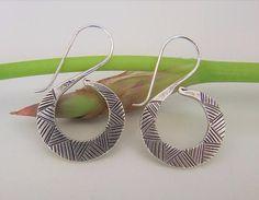 Sterling Silver earrings. Silver Jewelry. Ethnic jewelry. Ethnic earrings. Pendientes de plata. Joyería de plata. Joyería étnica.