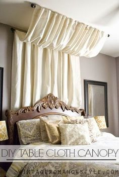 12 diy canopy beds that will turn your bedroom into a dreamy wonderland