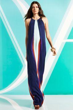 Diane von Furstenberg fashion collection, pre-autumn/winter 2014