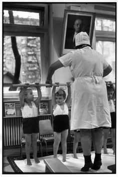 "fuckingfreud: ""SOVIET UNION. Russia. Moscow. 1972. Day nursery. Henri Cartier-Bresson """
