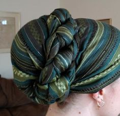 Beautiful Head covering wrap!!! This is JUST gorgeous!!!