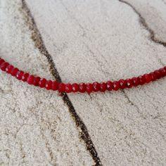 Rubin Halskette  Facettierte Rubin-Perlen 2x4 mm  Rubin aus Brasilien  Länge ca. 46,5 cm (ca. 60 Karat) & 48 cm ( ca. 65 Karat)  Karabinerverschluss #JOY #Einzelstücke #rubin #Halskette #Kette #rubinkette #facettiert #halsschmuck #rubinschmuck #ruby #Necklace #rubynecklace #unisex #jewelry #jewellery #schmuck #rubyjewelry #rubyjewellery #rubinhalskæde #κολιέρουμπίνι #collanadirubini #naszyjnikzrubinem #robijnketting #collarderubí #Geschenk #Geschenkidee #gift #Love #fashion #style… Ruby Necklace, Ruby Jewelry, India Jewelry, Pendant Necklace, Joy Shop, Unisex, Necklaces, Bracelets, Pendants