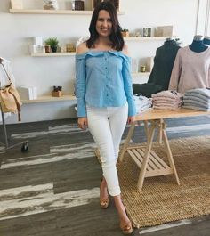 😍😍😍Another super cute top by SASS has just dropped at Orange Sherbet. The Cutaway Top $69.95 is available sizes 6 to 16 ✔️✔️  Buy now pay later with AfterPay or ZipPay💃🏻  📦FREE express shipping on orders over $50  https://www.orangesherbet.com.au/collections/frontpage/products/cutaway-top-cornflower-stripe