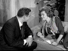Perry Mason and Della Street Kiss.mpg - YouTube