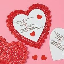 valentine card craft