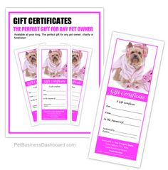 Dog Grooming Business Templates