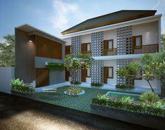Membangun Rumah Kost-Kostan dari Sederhana Hingga Mewah - Desain tipe rumah