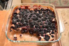Blackberry Recipes, Blackberry Cobbler, Fruit Cobbler, Cobbler Recipe, Baby Food Recipes, Dessert Recipes, Cooking Recipes, Drink Recipes, Food Baby
