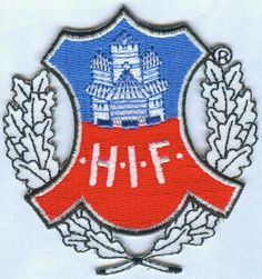 Helsingborgs IF HIF Halsingborgs Swedish Sweden Football Soccer Badge Patch