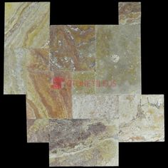 Antique Blend Brushed Chiseled French Pattern Travertine Tiles, Great for indoor or outdoor use, and can increase the value of your property. Travertine Tile, Stone Tiles, French Pattern, Antiques, Painting, Floors Of Stone, Antiquities, Antique, Painting Art