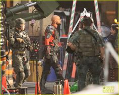 New SUICIDE SQUAD Set Photos Of 'Harley Quinn,' 'Deadshot,' And The Gang; Plus Scott Eastwood