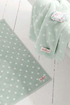 Duck egg towels, love love love!!